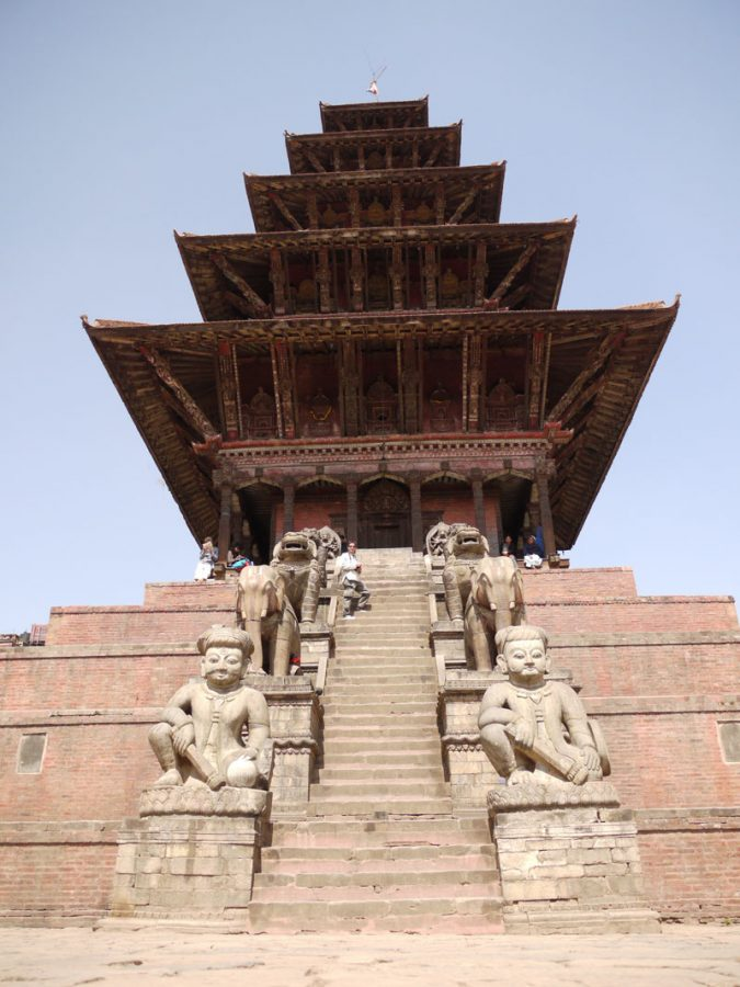 Nyatapola temple, Bhaktapur; the tallest temple in Nepal