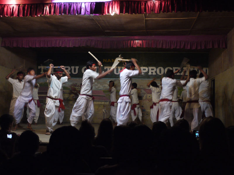 The Tharu Stick Dance