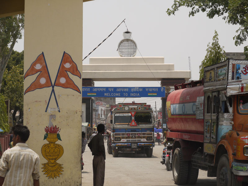 India/Nepal border, Sanauli