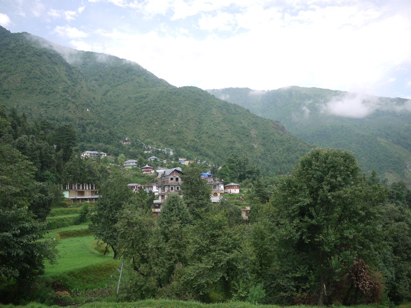 View from Dharamkot