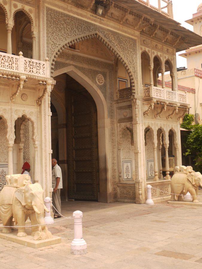 Gateway, City Palace, Jaipur