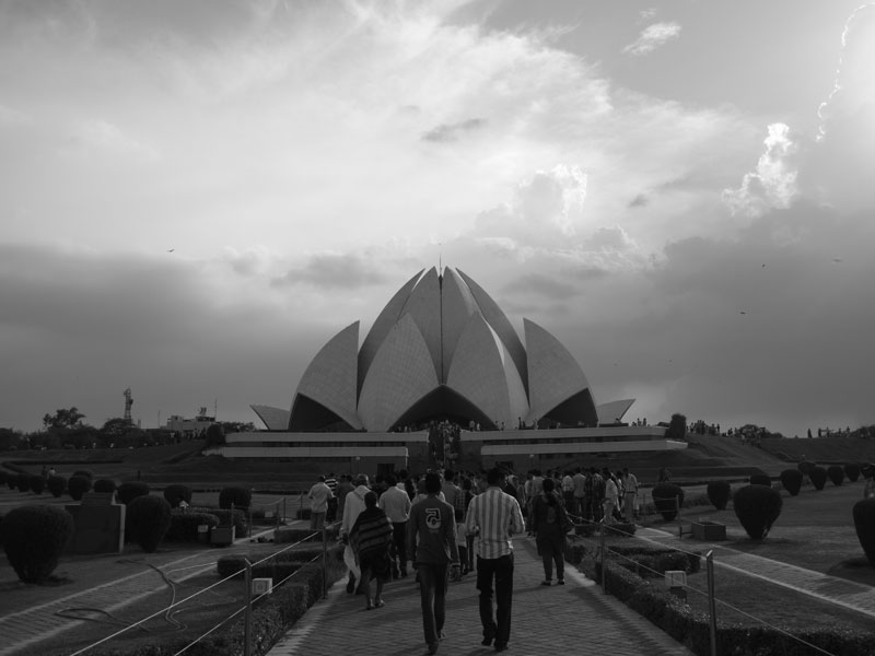 The Baha'i Lotus Temple, Delhi