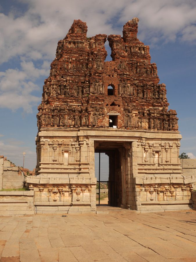 Entrance to the Tamples, Hampi