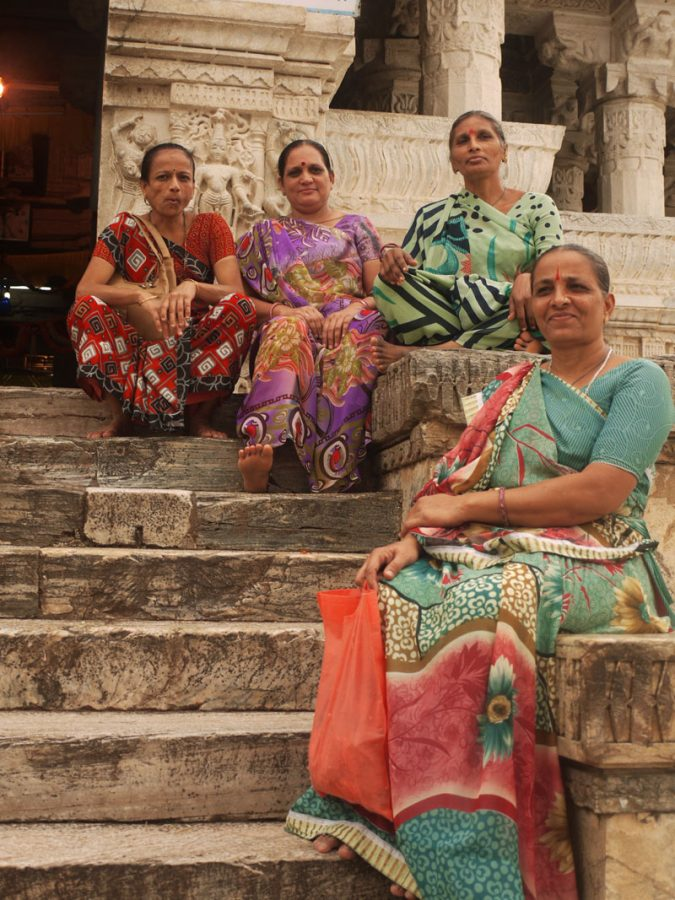 Local Women at Jagdish Temple, Udaipur