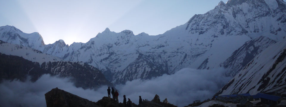 VIDEO Sunrise at Annapurna Base Camp, Nepal
