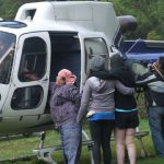 VIDEO Himalayan Rescue Helicopter Takes An Injured Hiker To Pokhara