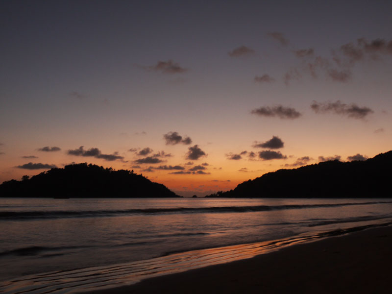 Backpacker's Guide to Goa, Sunset at Palolem Beach, Goa