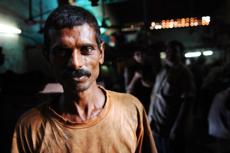 Factory Worker, Dharavi