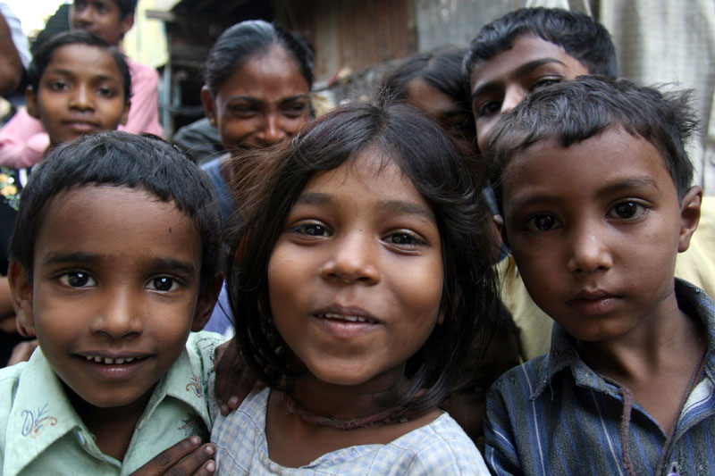 Children of Dharavi Slum