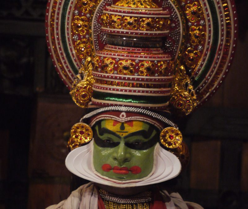 VIDEO Kathakali Performance. Kerala, India