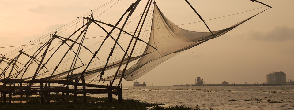 Cruising the Kerala Backwaters at Colonial Kochi, India