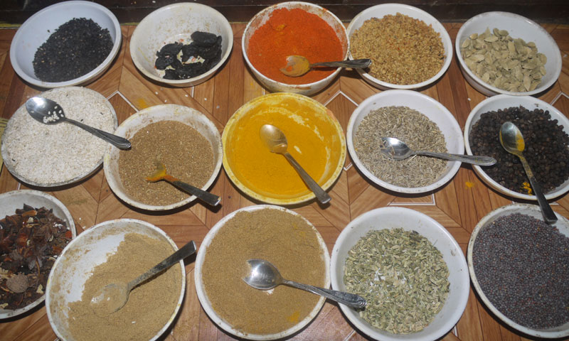 Colourful Indian Spices