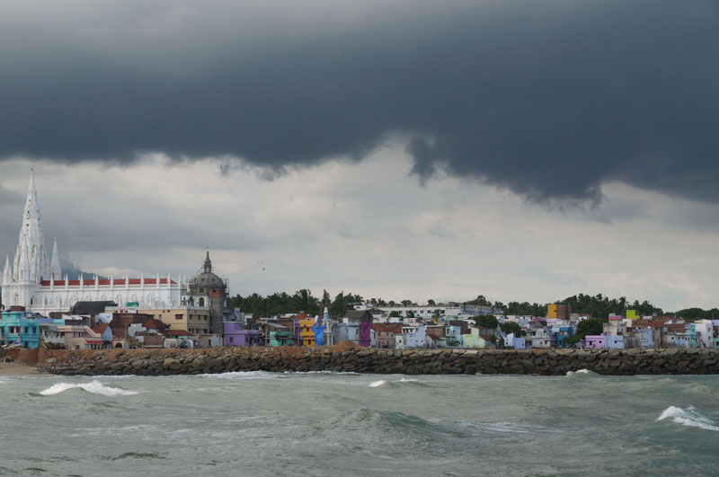 Stormy Skies, Kanyakumari, India