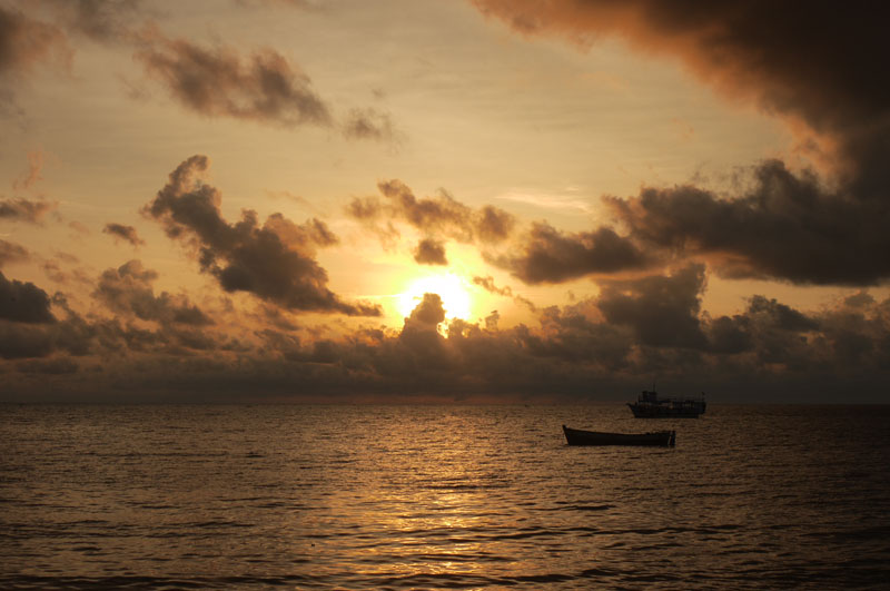 Sunrise at Rameswaram