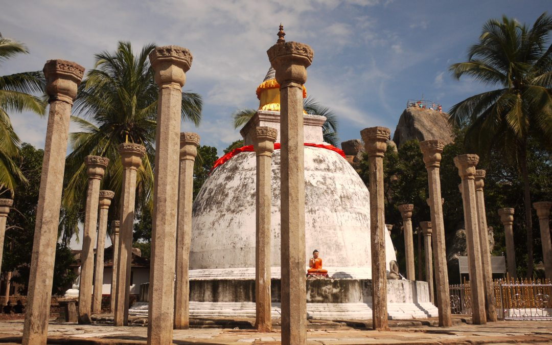 Ancient Buddhist Site of Anuradhapura, Sri Lanka