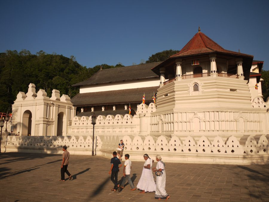 Sri Dalada Maligawa or Temple of the Sacred Tooth Relic, Kandy, Sri Lanka
