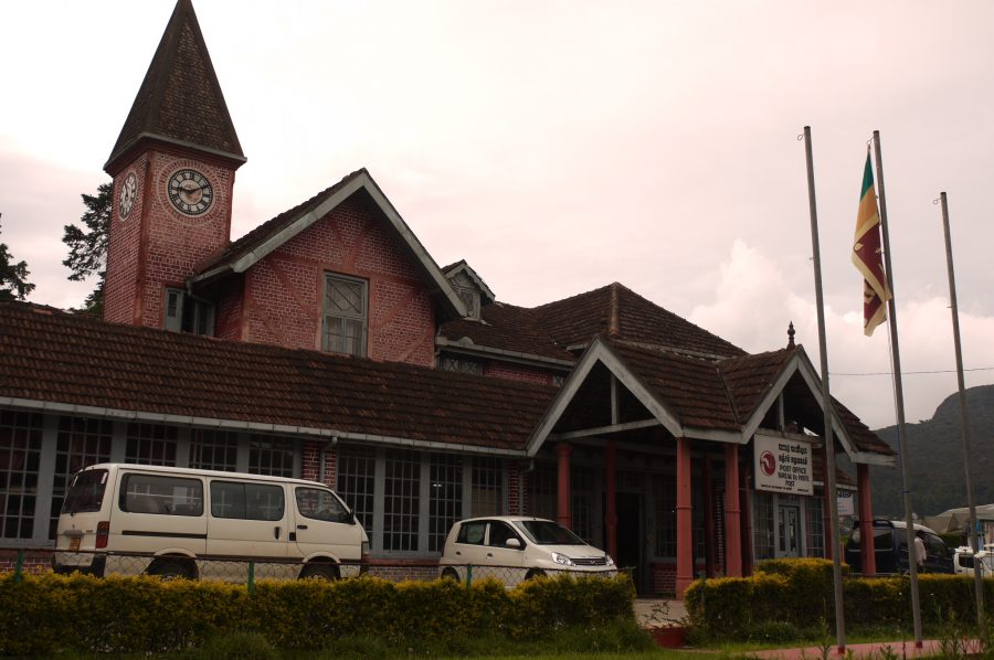 Colonial style post office, Nuwara Eliya, Sri Lanka