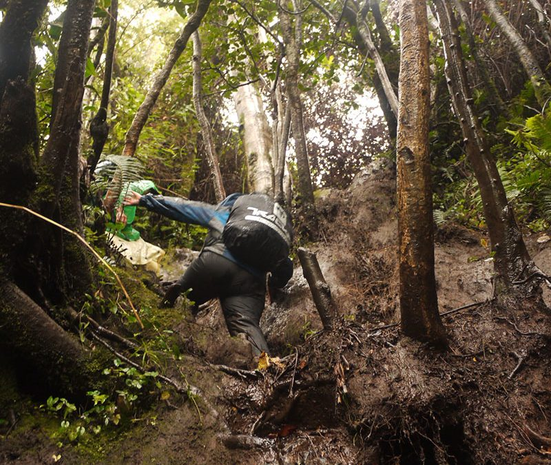 Climbing Mount Kerinci, Indonesia's Highest Volcano In Strong Winds and Rain (Part 1)