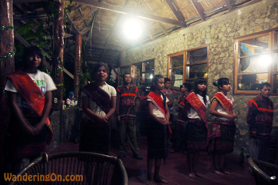 Batak traditional music and dance performance