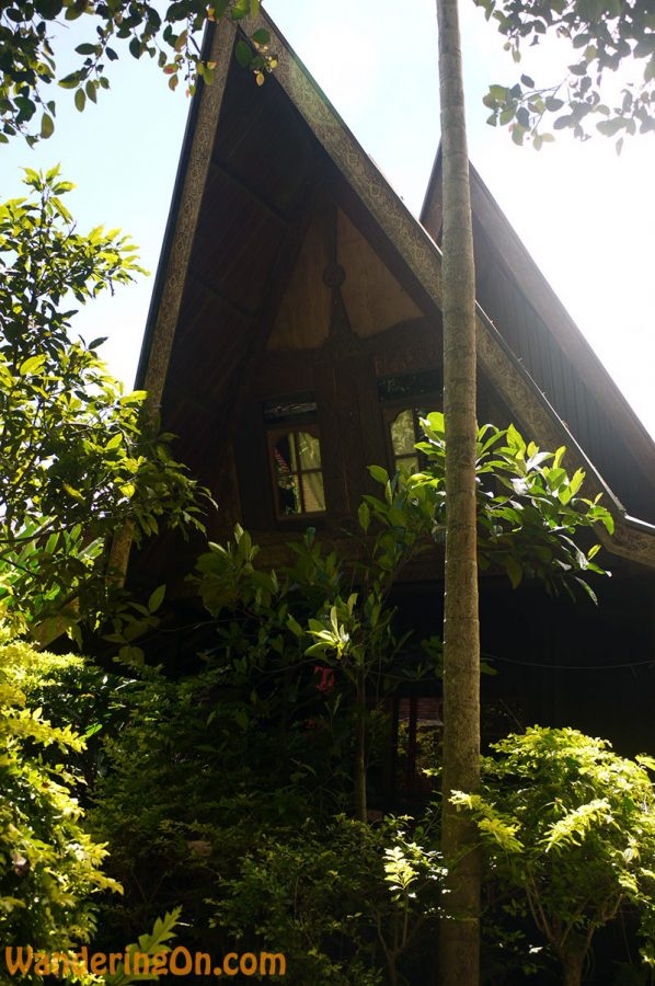 Our traditional Batak style room on the shores of Lake Toba, Sumatra