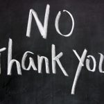 Travel Tip #11: Learn How To Say 'No Thank You'