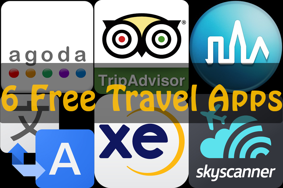 Travel Tip #14: Our Top 6 Free Travel Apps