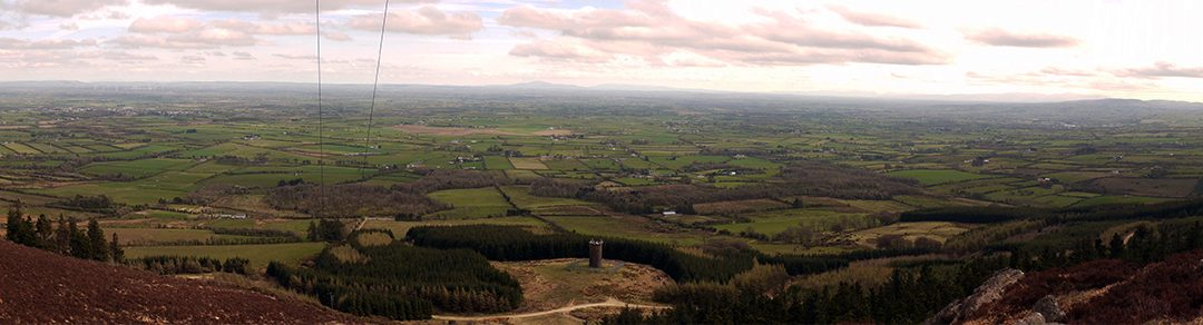 Hiking To The Top Of The Devil's Bit, Co. Tipperary, Ireland
