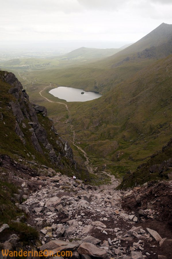 Looking down the Devil's Ladder