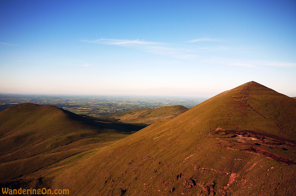 Hiking Galtymore on the Cork, Tipperary Border, Ireland