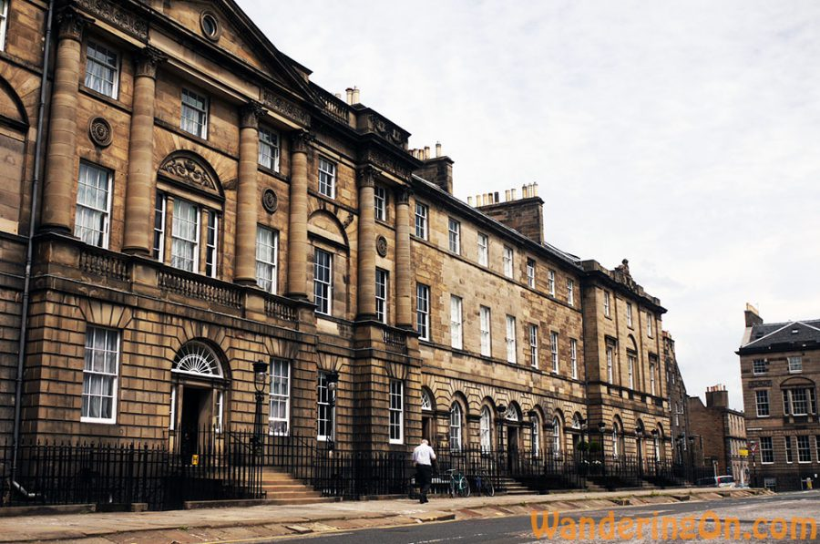 Buildings surrounding Charlotte Square, Edinburgh