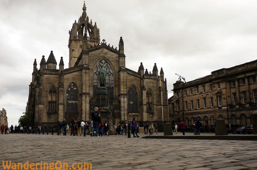 St. Giles Cathedral on the Royal Mile, Edinburgh