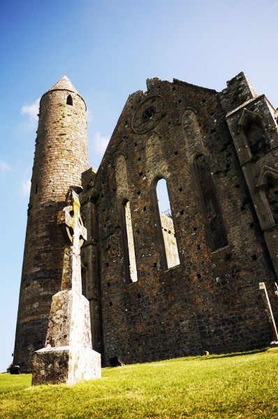 The iconic round tower of the Rock Of Cashel, Cashel, Co. Tipperary