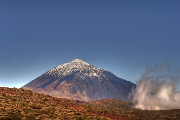 Mt Teide, Spains highest peak, located in Tenerife
