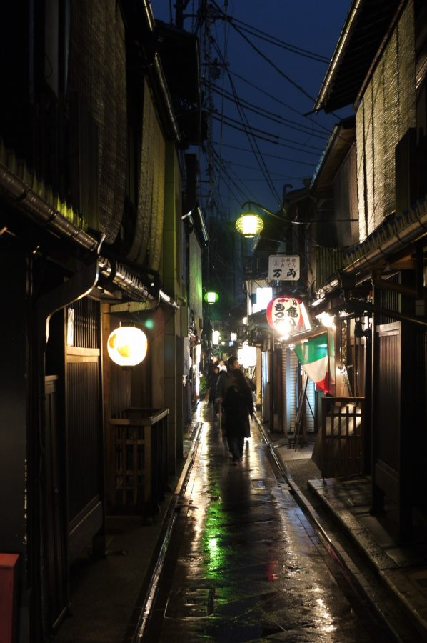 Pontocho, Kyoto's old red light district, Geisha spotting district, 2 days in Kyoto, things to do in Kyoto at night