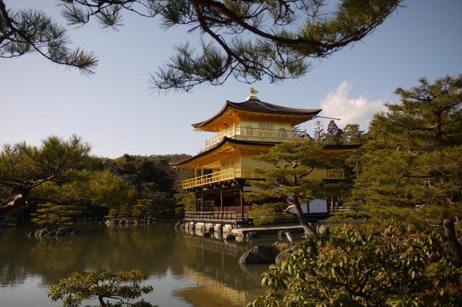 The Beautiful Golden Temple, Kyoto