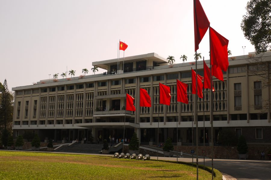 The Reunification Palace, Vietnam