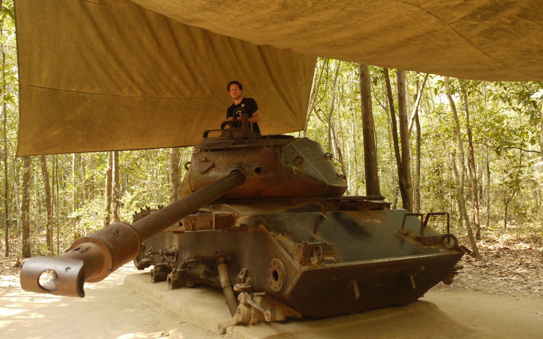 Crawling Through the Chu Chi Tunnels With a Vietnam Vet