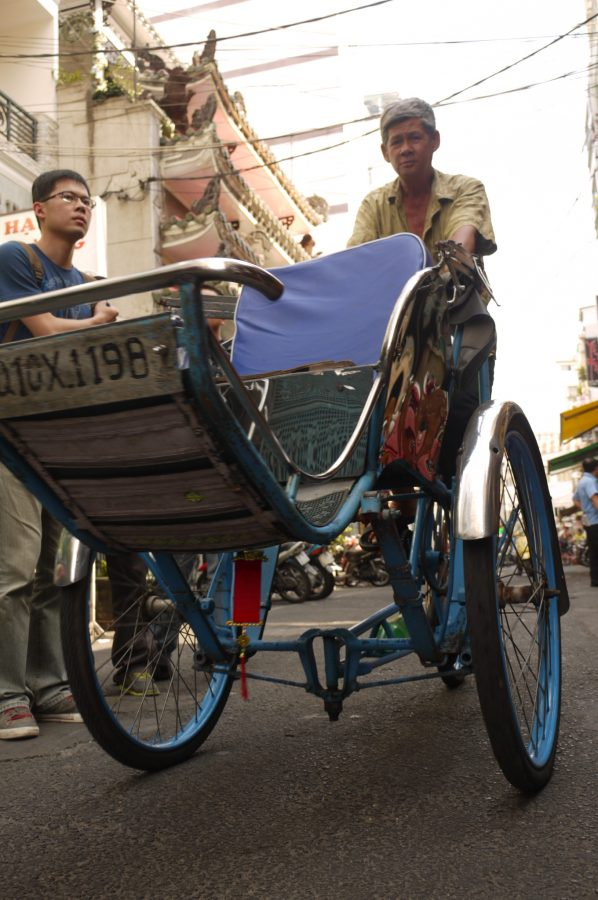 Cycle Rickshaw in Ho Chi Minh City
