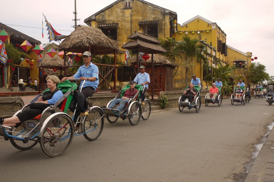 One way to tour Hoi An!