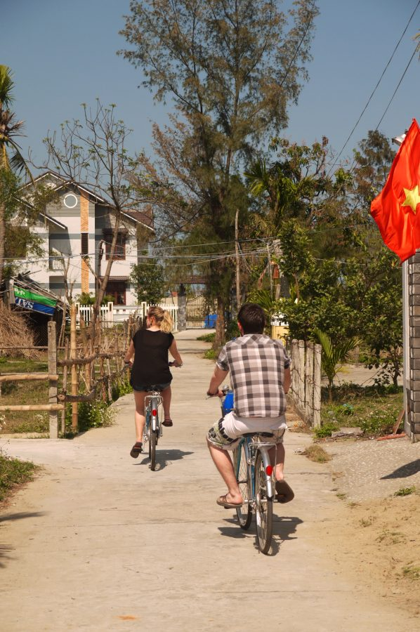 Exploring around the countryside outside Hoi An, Vietnam