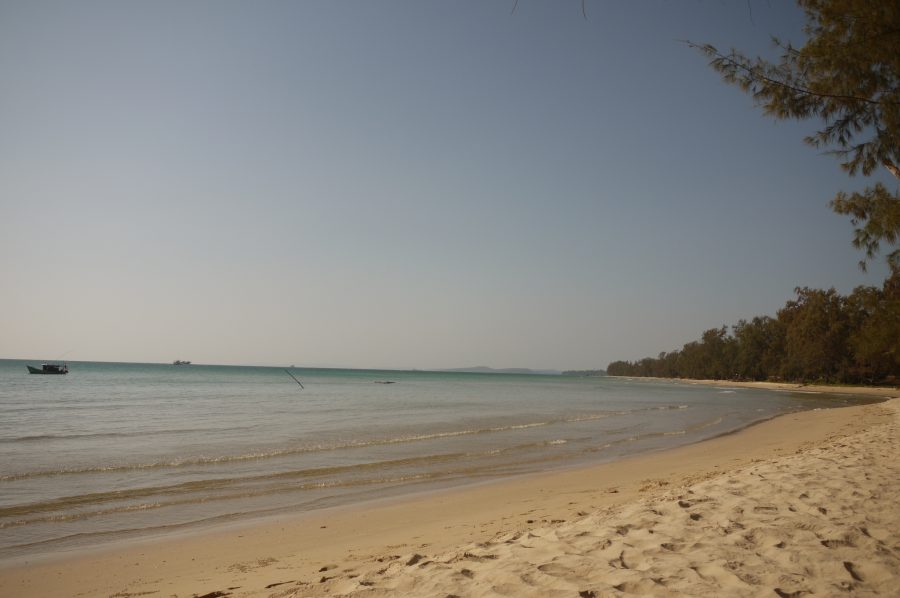 Empty sand in northern Phu Quoc