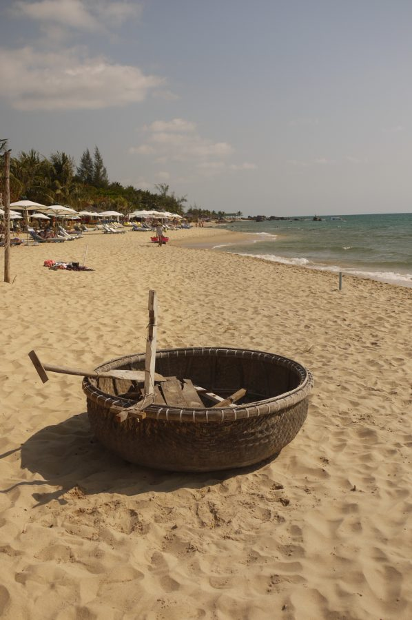 Traditional Basket Paddle Boat, Phu Quoc Island