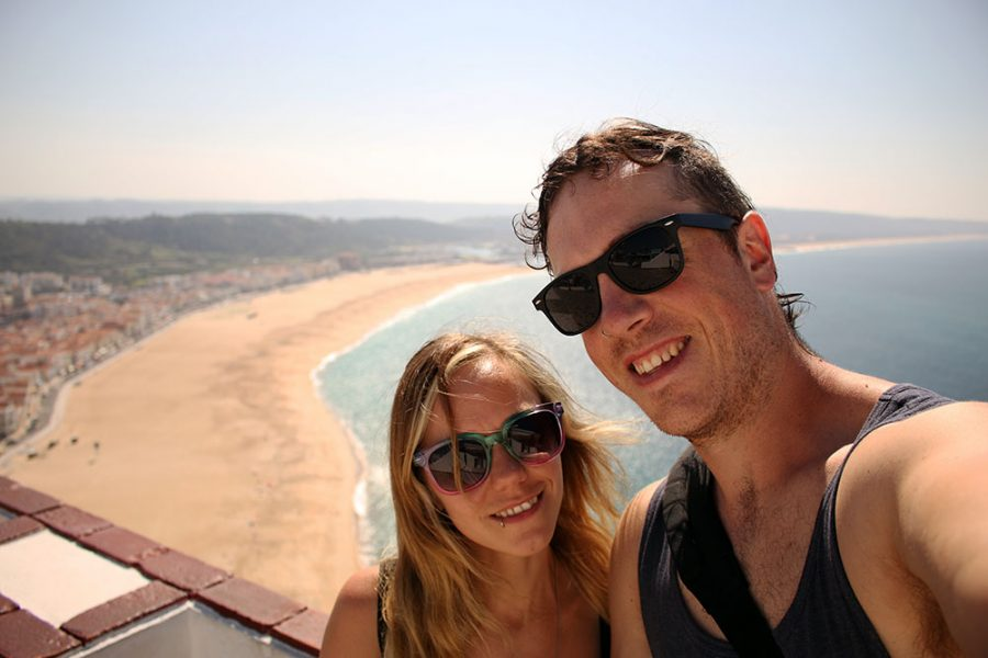 Year of Travel 2014 - Nazare, Portugal