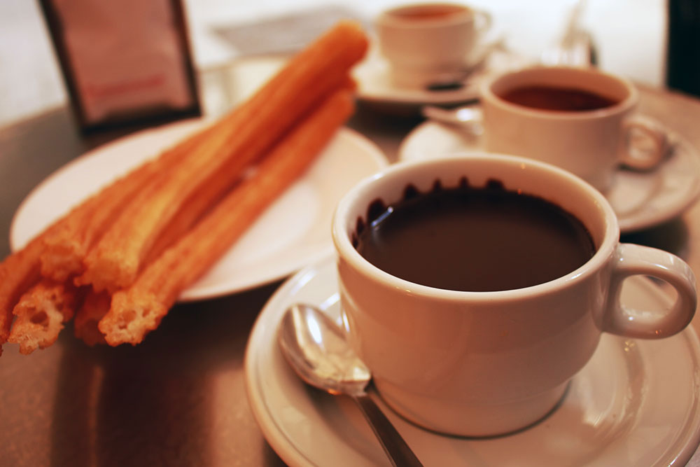 Chocolate Con Churros - 5 days in Madrid