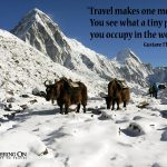 Inspirational Travel Quotes #1