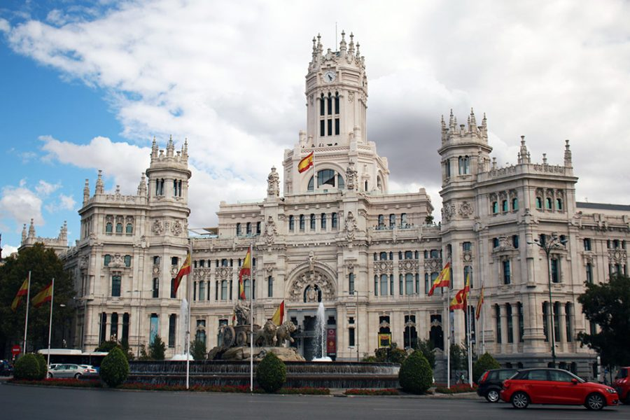 Plaza de Cibeles - 5 Days In Madrid