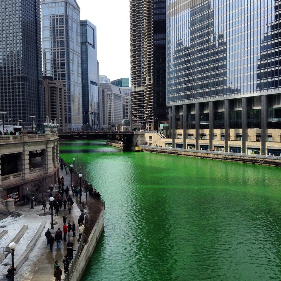 Chicago celebrating Paddy's Day in Style
