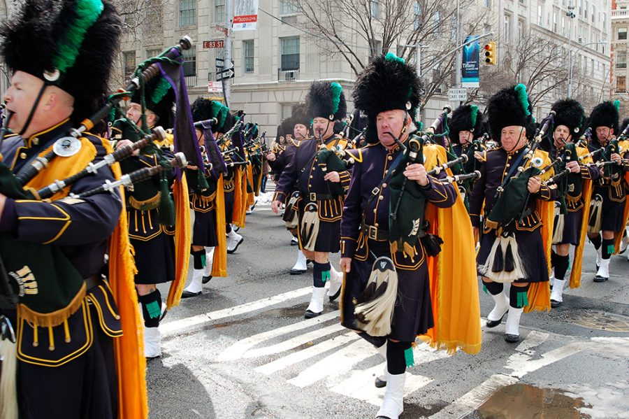 St. Patrick's Day in New York City