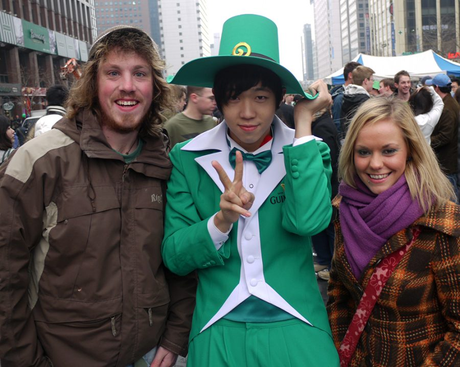 Paddy's Day in Seoul, South Korea