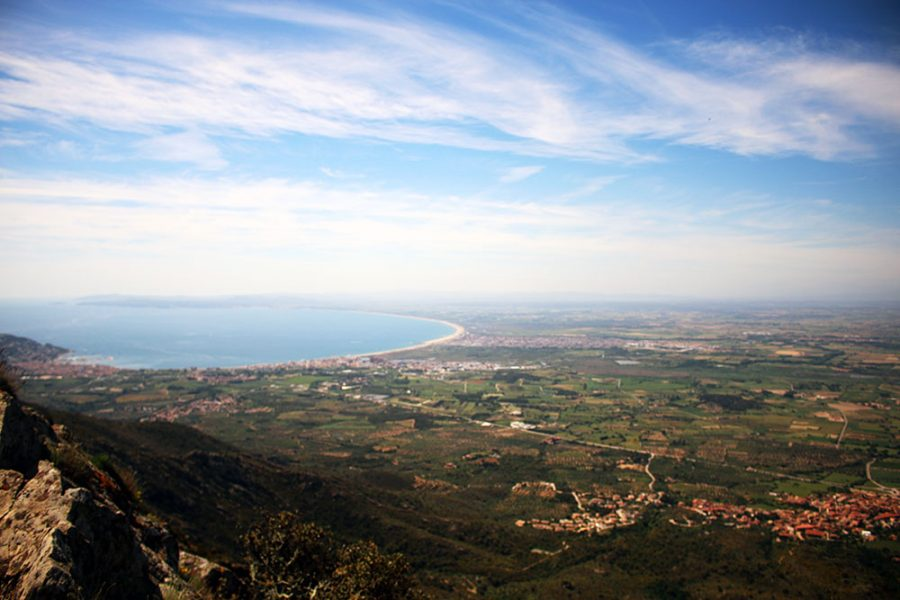 View Of The Costa Brava From Sant Pere De Rodes